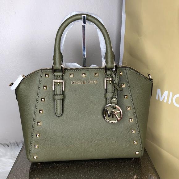 ac1e8bc8ed57 Michael Kors Bags   Studded Md Ciara Messenger   Poshmark